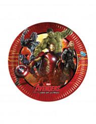 8 piattini di cartone Avengers™