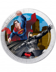8 Piattini di carta Batman v Superman™