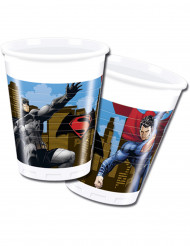 8 bicchieri di plastica Batman vs Superman™