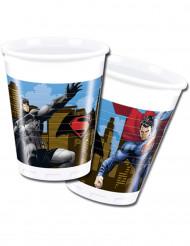 8 bicchieri di plastica Batman vs Superman™