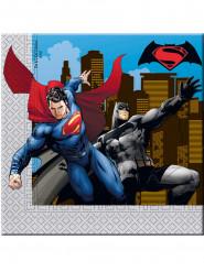 20 tovaglioli di carta Batman vs Superman™