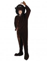 Costume mascotte da scimmia per adulto