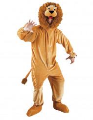 Costume mascotte da leone per adulto