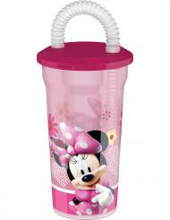 Bicchiere con cannuccia di Minnie™