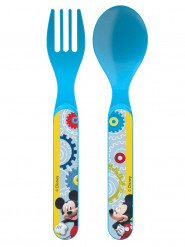 Set da 2 posate in plastica Mickey Mouse™