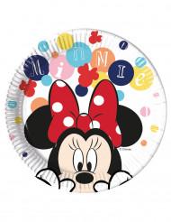8 piatti di cartone Minnie™