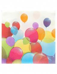 20 Tovaglioli di carta Palloncini colorati