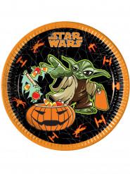 8 piatti di cartone Halloween Star Wars™