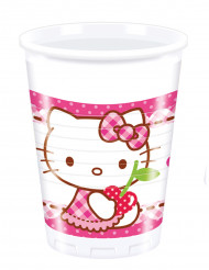 8 Bicchieri di plastica Hello Kitty™