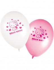 8 palloncini Hello Kitty™