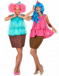 Costume di coppia cupcake donna