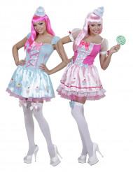 Costume coppia cupcake donna