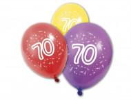 8 palloncini in lattice numero 70