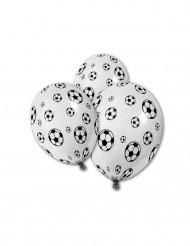 5 Palloncini stampa pallone da calcio
