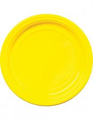 30 piatti gialli