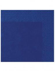 Confezione di 50 tovaglioli di colore blu