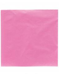 Confezione di 50 tovaglioli di colore rosa acceso