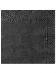 Confezione di 50 tovaglioli di colore neri