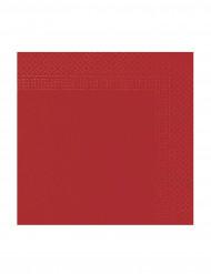 Confezione di 50 tovaglioli di colore rosso