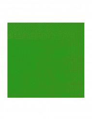 Confezione di 50 tovaglioli di colore verde