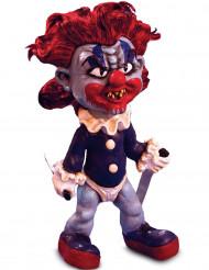 Decorazione di Halloween: pupazzo clown malefico
