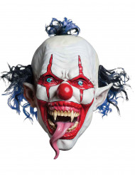 Maschera clown malefico adulto Halloween