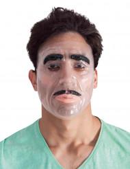 Maschera trasparente per uomo