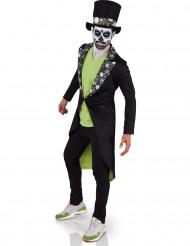 Costume Dia de los muertos Halloween adulto