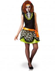 Costume donna Dia de los muertos Halloween