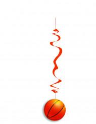 6 decorazioni da appendere palloni da basket