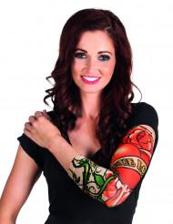 Manica con finto tatuaggio True Love per donna