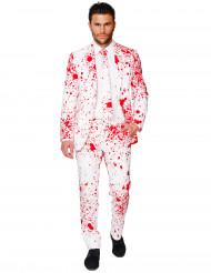 Costume Halloween bianco insanguinato uomo Opposuits™