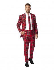 Costume Scozzese rosso uomo Opposuits™