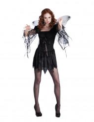 Costume da angelo nero donna - Halloween