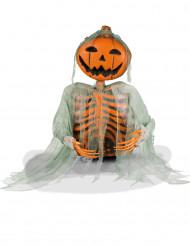 Scheletro zucca Halloween