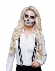 Bretelle scheletro adulto Halloween