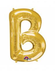 Palloncino alluminio lettera B dorato