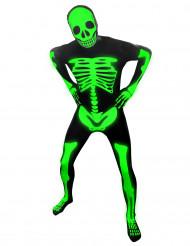 Costume da scheletro fluo di Morphsuits™ per bambino
