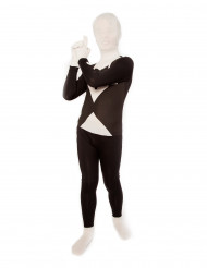 Costume Morphsuits™ nero e bianco per bambino