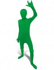 Costume seconda pelle Morphsuits™ verde per bambino