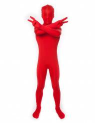 Costume Morphsuits™ rosso bambino