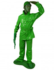 Costume soldatino verde Morphsuits™ adulto
