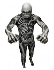 Costume scheletro di Morphsuits™ adulto