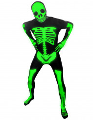 Costume da scheletro fluo di Morphsuits™ adulto