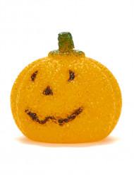 Decorazione zucca Led 10 cm Halloween