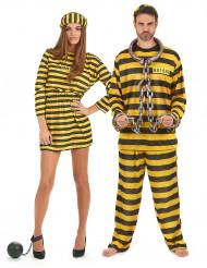 Costume coppia prigionieri adulto