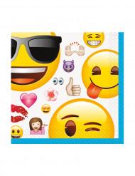 16 Tovaglioli di carta con Emoji™