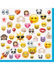 16 Tovaglioli di carta Emoji™