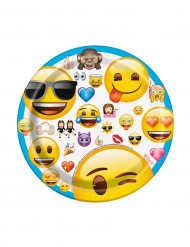 8 Piattini di carta Emoji™