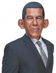 Maschera umoristica in lattice  di Barack Obama per adulto